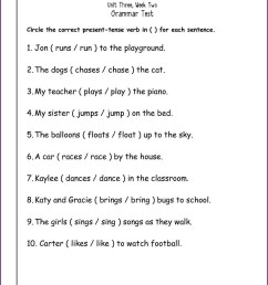 Helping Verb Worksheet 3rd Grade   Printable Worksheets and Activities for  Teachers [ 1594 x 1234 Pixel ]
