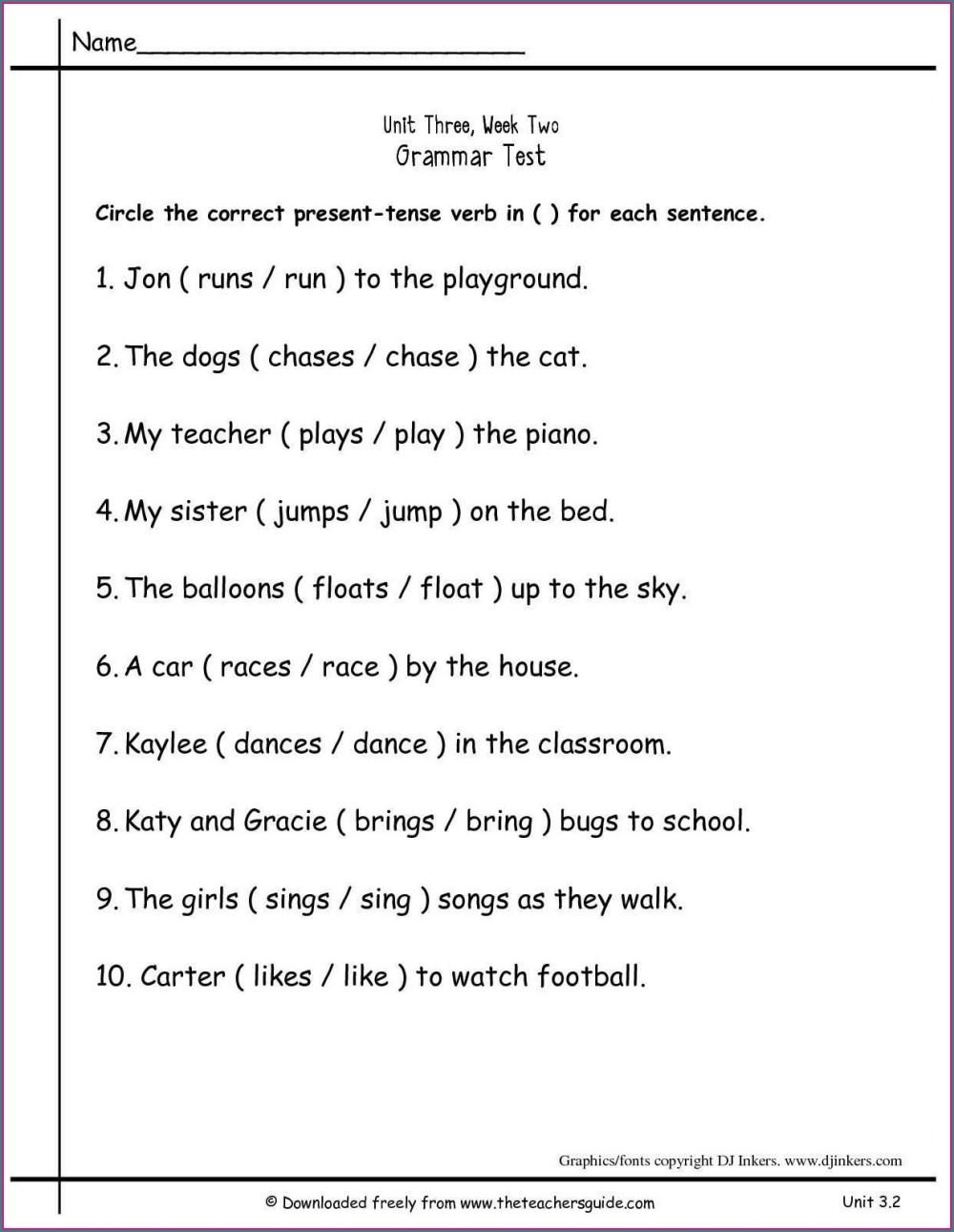 medium resolution of Helping Verb Worksheet 3rd Grade   Printable Worksheets and Activities for  Teachers