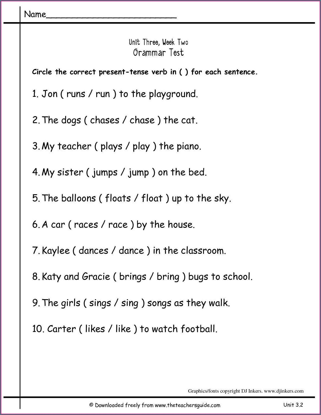 hight resolution of Helping Verb Worksheet 3rd Grade   Printable Worksheets and Activities for  Teachers