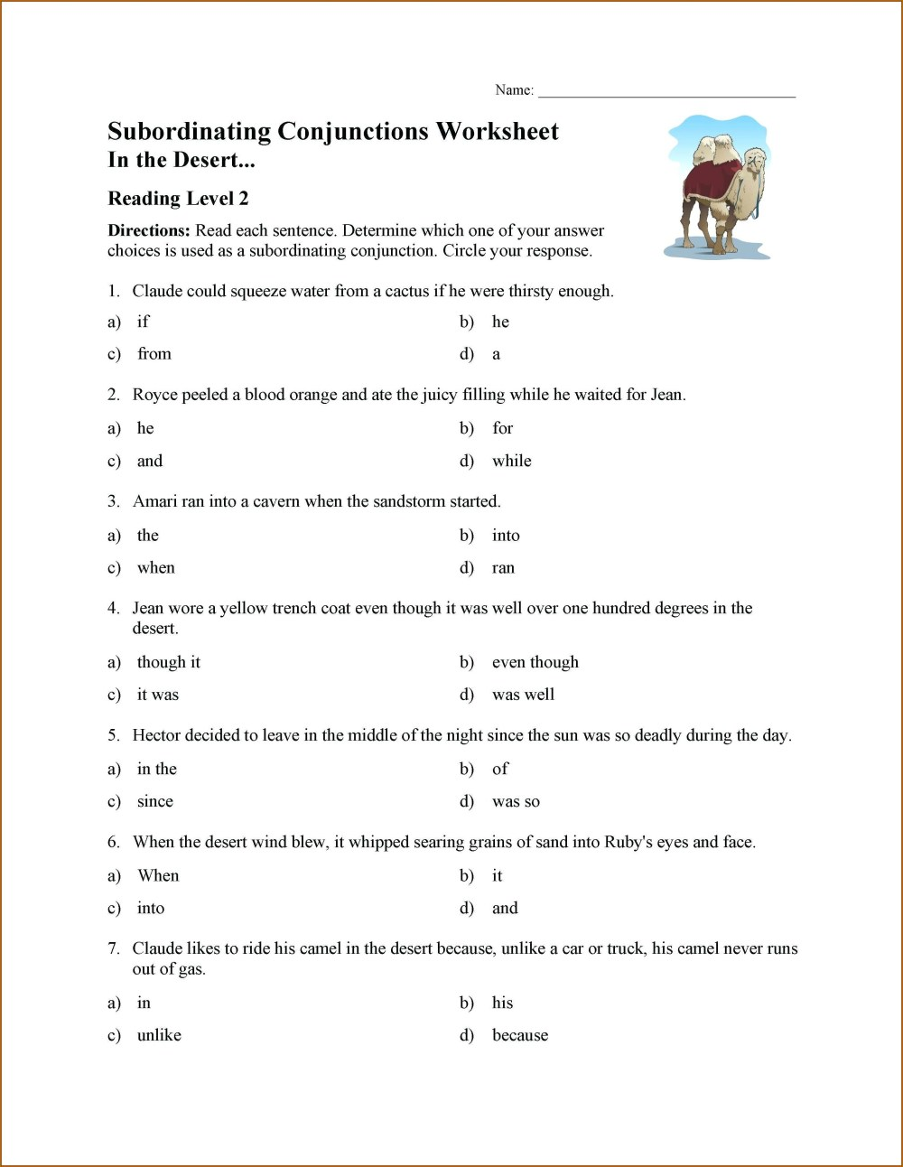 medium resolution of Coordinating Conjunctions Worksheet   Printable Worksheets and Activities  for Teachers