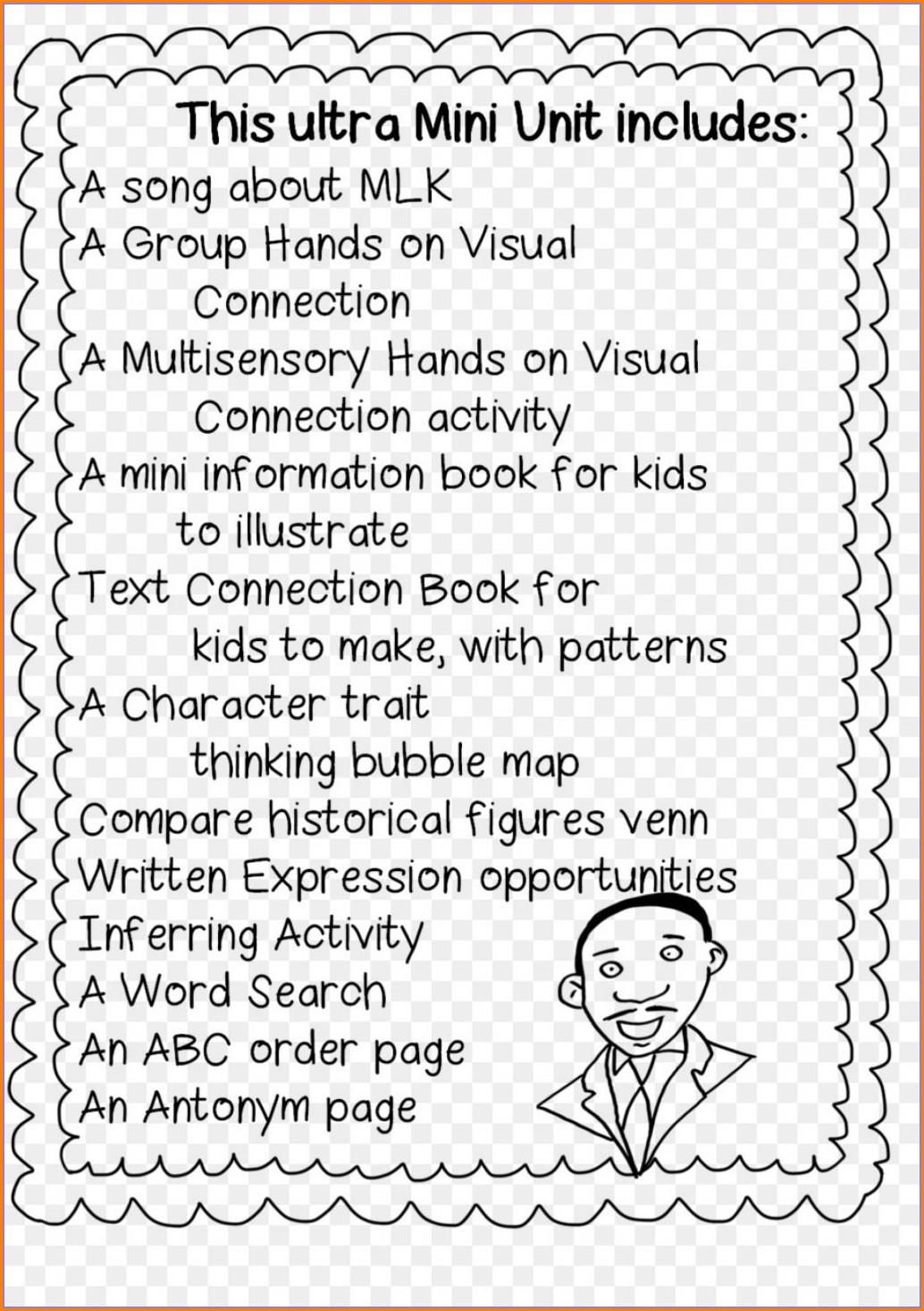 Printable Black History Month Worksheets For Second Grade