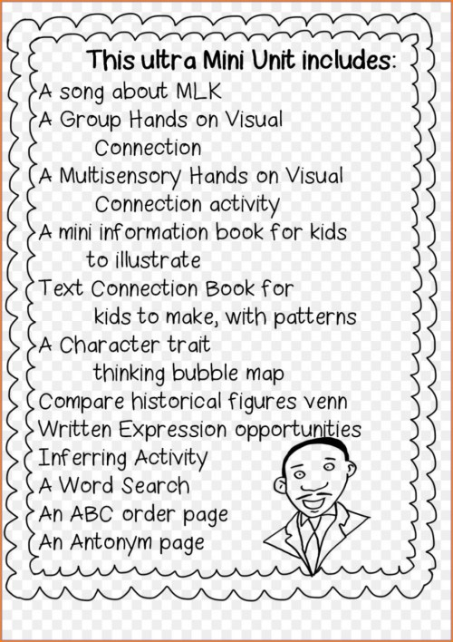small resolution of Black History Month Worksheets For Kids   Printable Worksheets and  Activities for Teachers