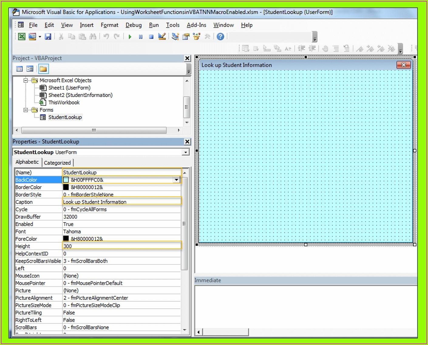 Excel Vba Sort Userform Listbox Worksheet Resume Examples