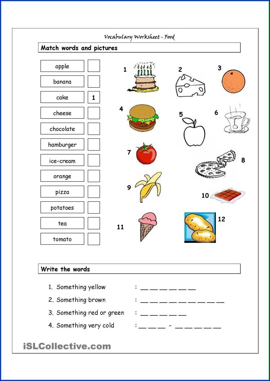 Matching Shapes Worksheet For Kindergarten Worksheet