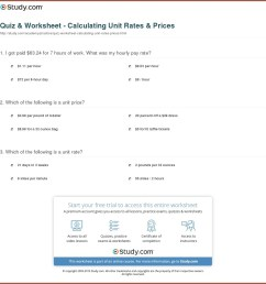 Unit Conversion Rates Worksheet   Printable Worksheets and Activities for  Teachers [ 1182 x 1150 Pixel ]