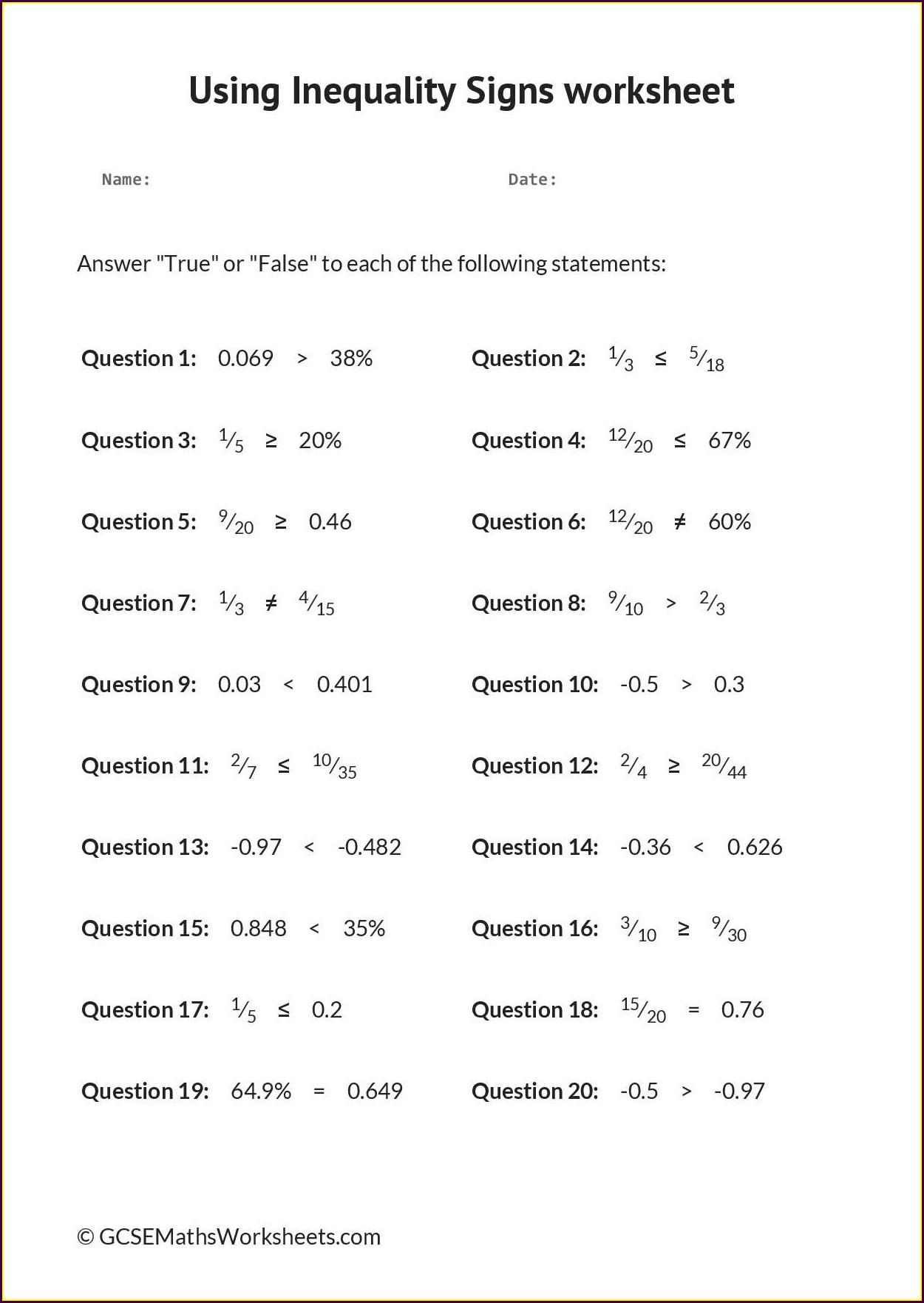 Fractions Worksheet Gcse Tes Worksheet Resume Examples