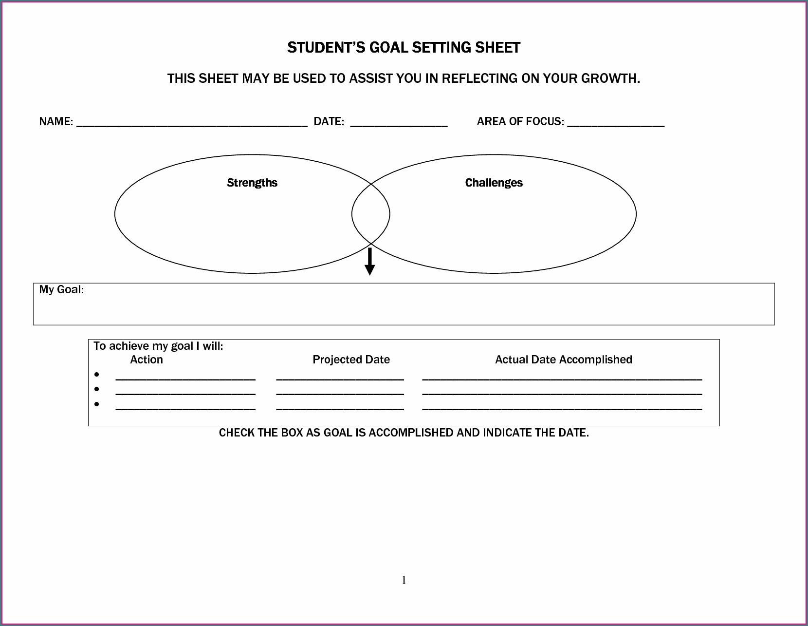 Time Management Worksheet For Middle School Students
