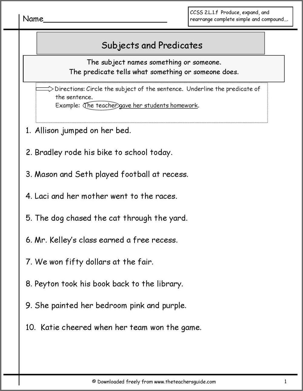 medium resolution of Subject Verb Agreement Worksheet Esl   Printable Worksheets and Activities  for Teachers