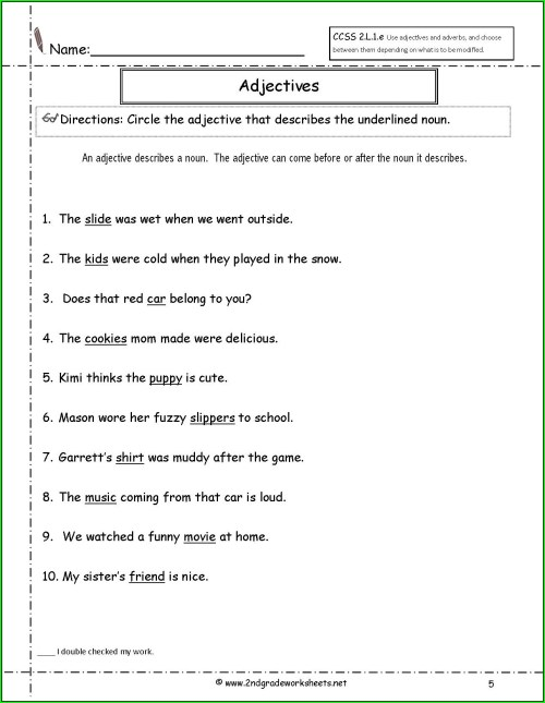 small resolution of Adverbs Er Est Ly Worksheet Grade 2   Printable Worksheets and Activities  for Teachers