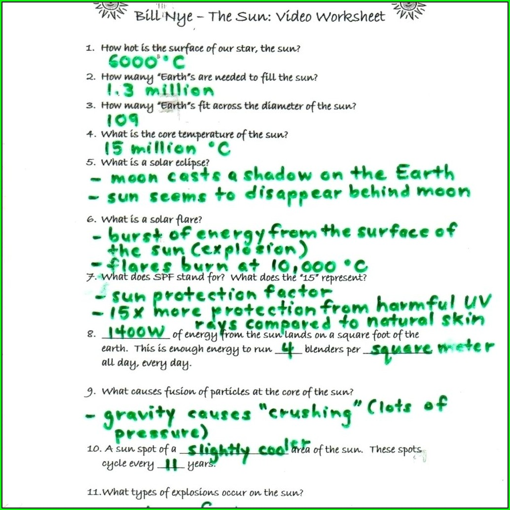 Bill Nye Water Cycle Worksheet Key Worksheet Resume Examples