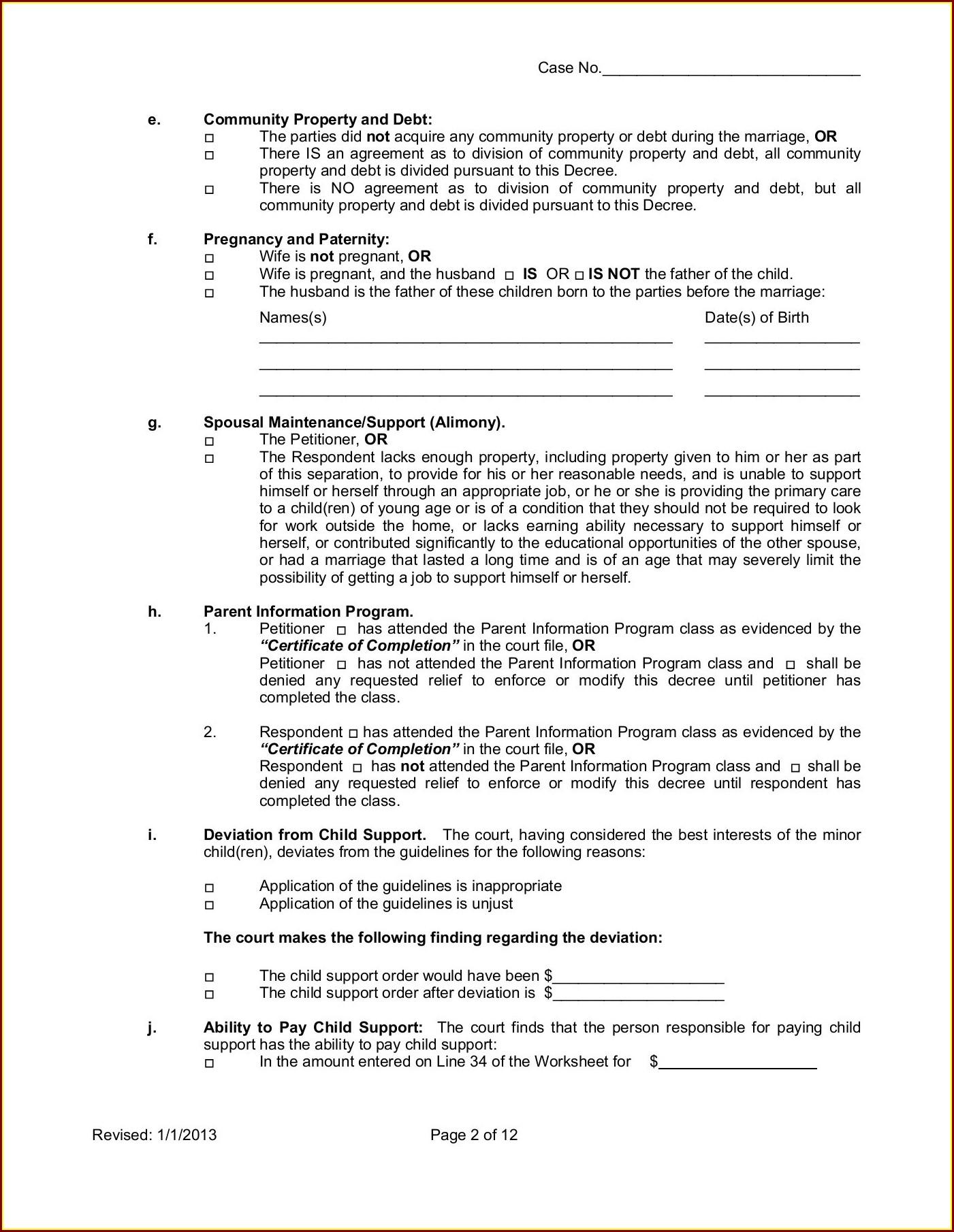 Child Support Parents Worksheet Arizona Worksheet Resume
