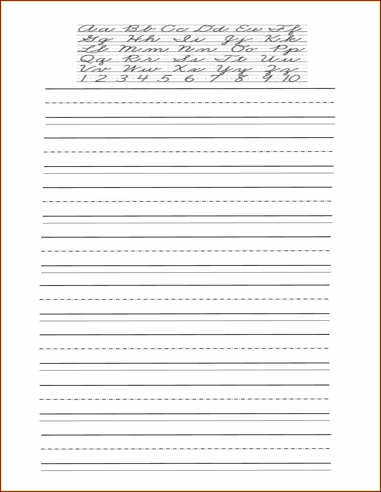 Free Handwriting Worksheet Maker Teachers Worksheet