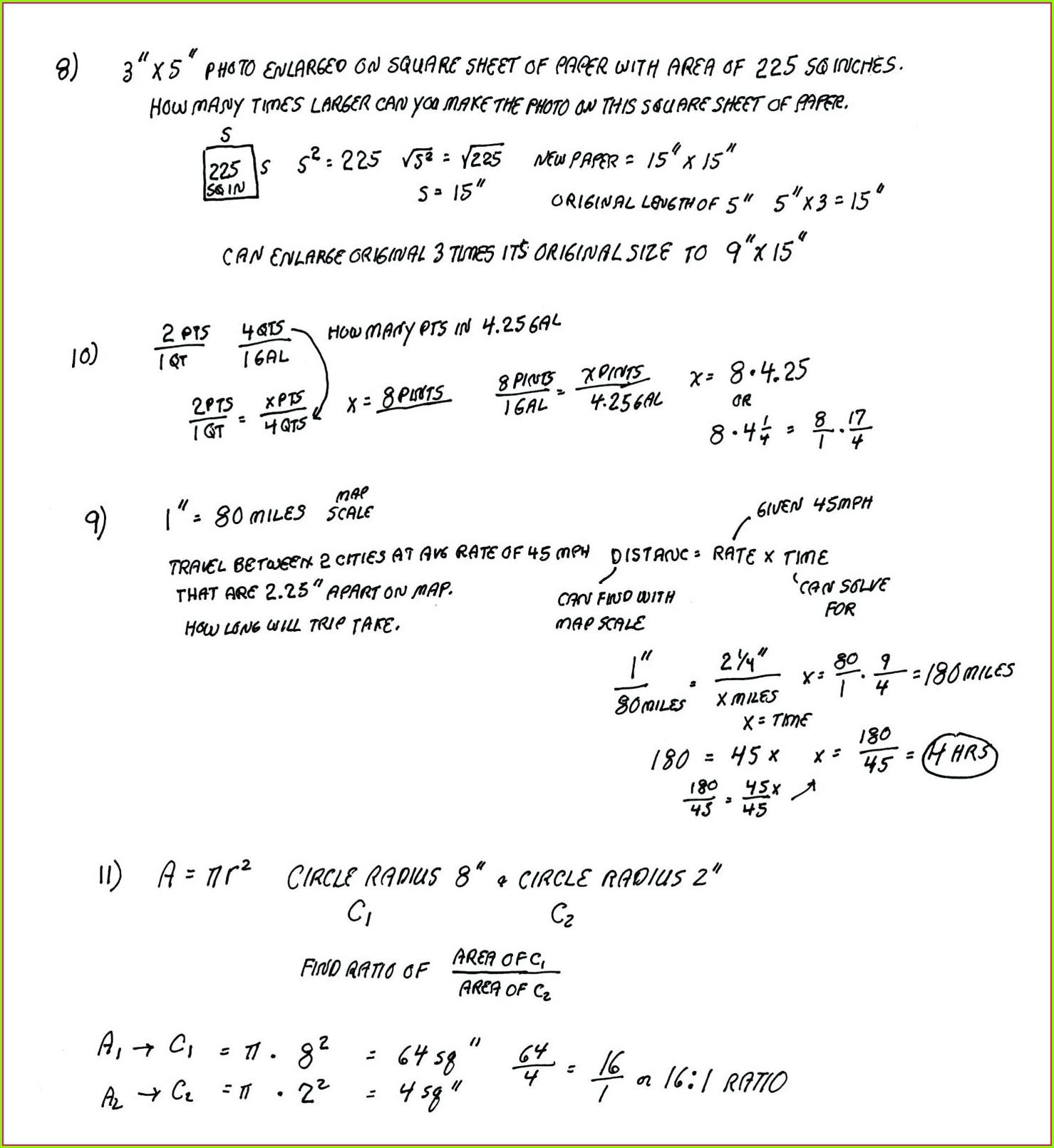 Grade 5 Math Word Problems Worksheet Answers Worksheet