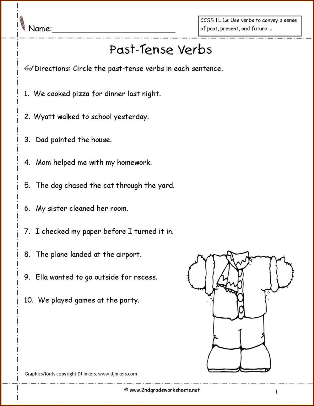 medium resolution of Irregular Verbs Worksheets 2nd Grade   Printable Worksheets and Activities  for Teachers