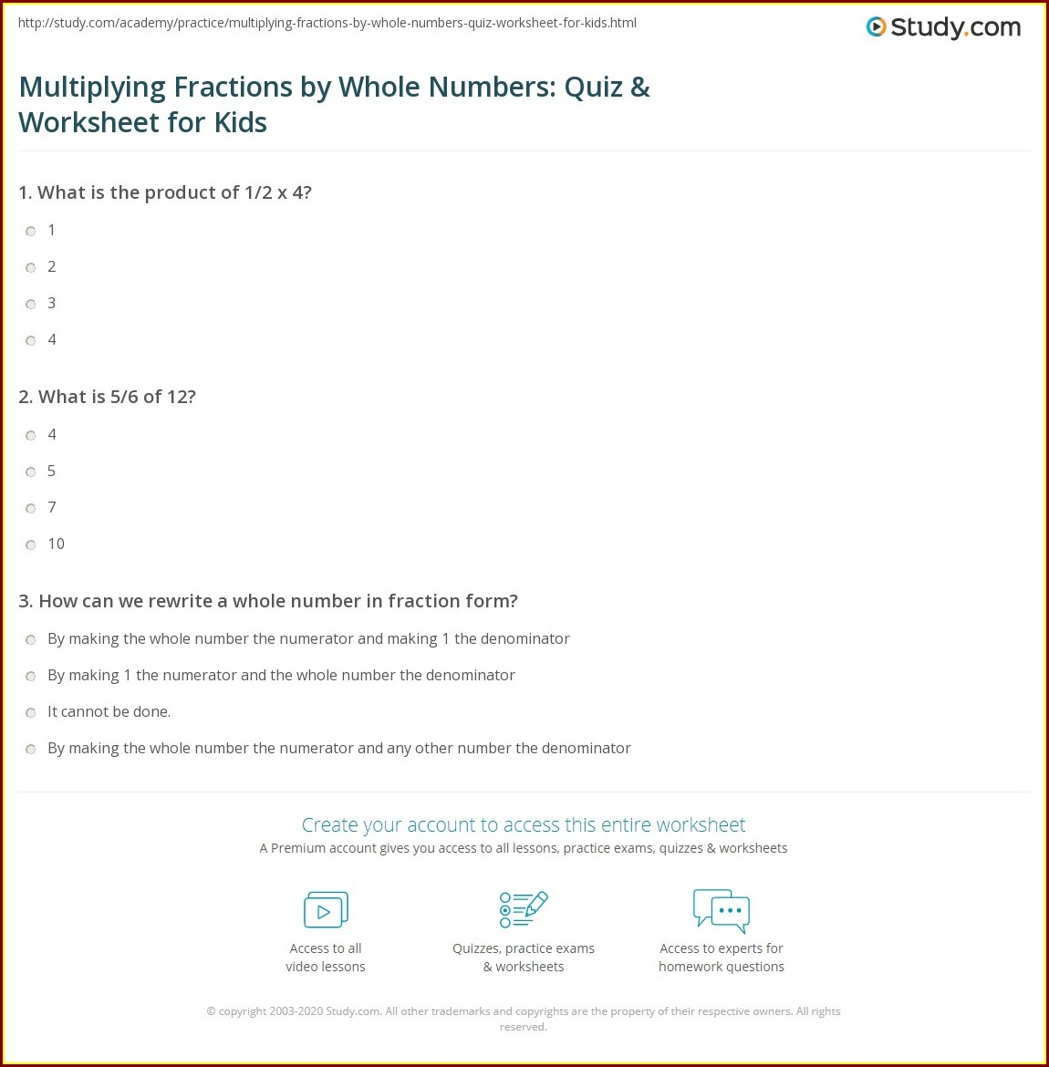 Multiplying Fractions Mixed Numbers Worksheet Worksheet