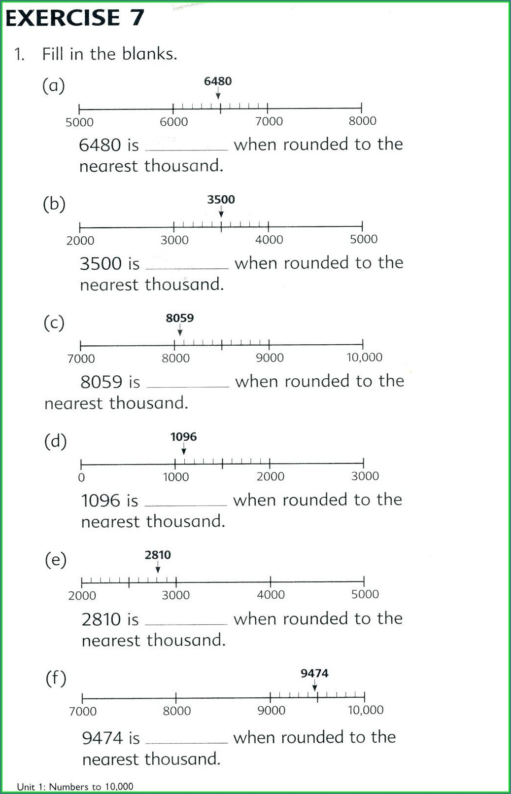 hight resolution of Rounding Numbers With Decimals Worksheets   Printable Worksheets and  Activities for Teachers