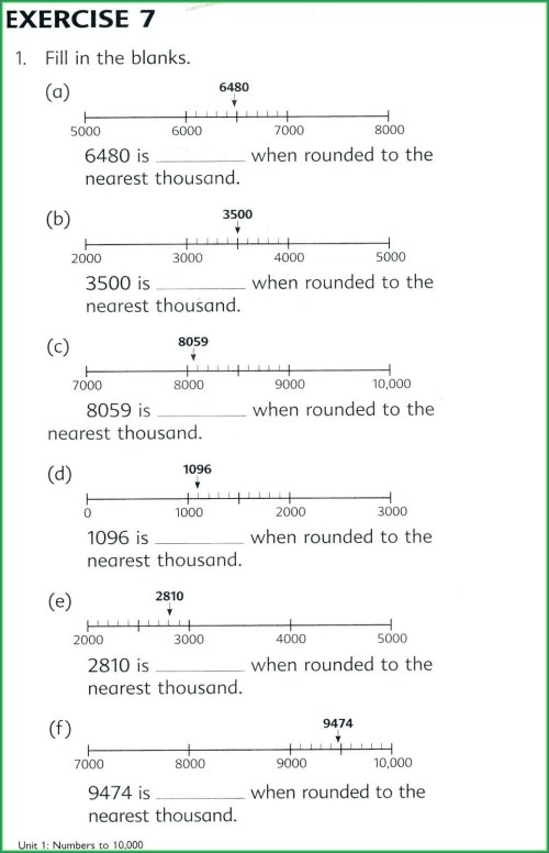 small resolution of Rounding Numbers With Decimals Worksheets   Printable Worksheets and  Activities for Teachers