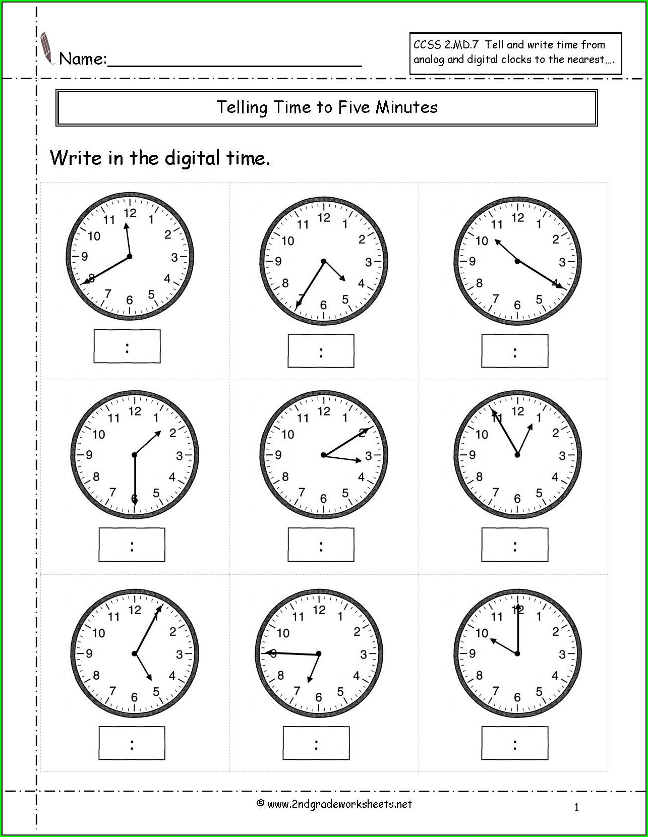 Telling Time In Spanish Worksheet Answer Key Worksheet