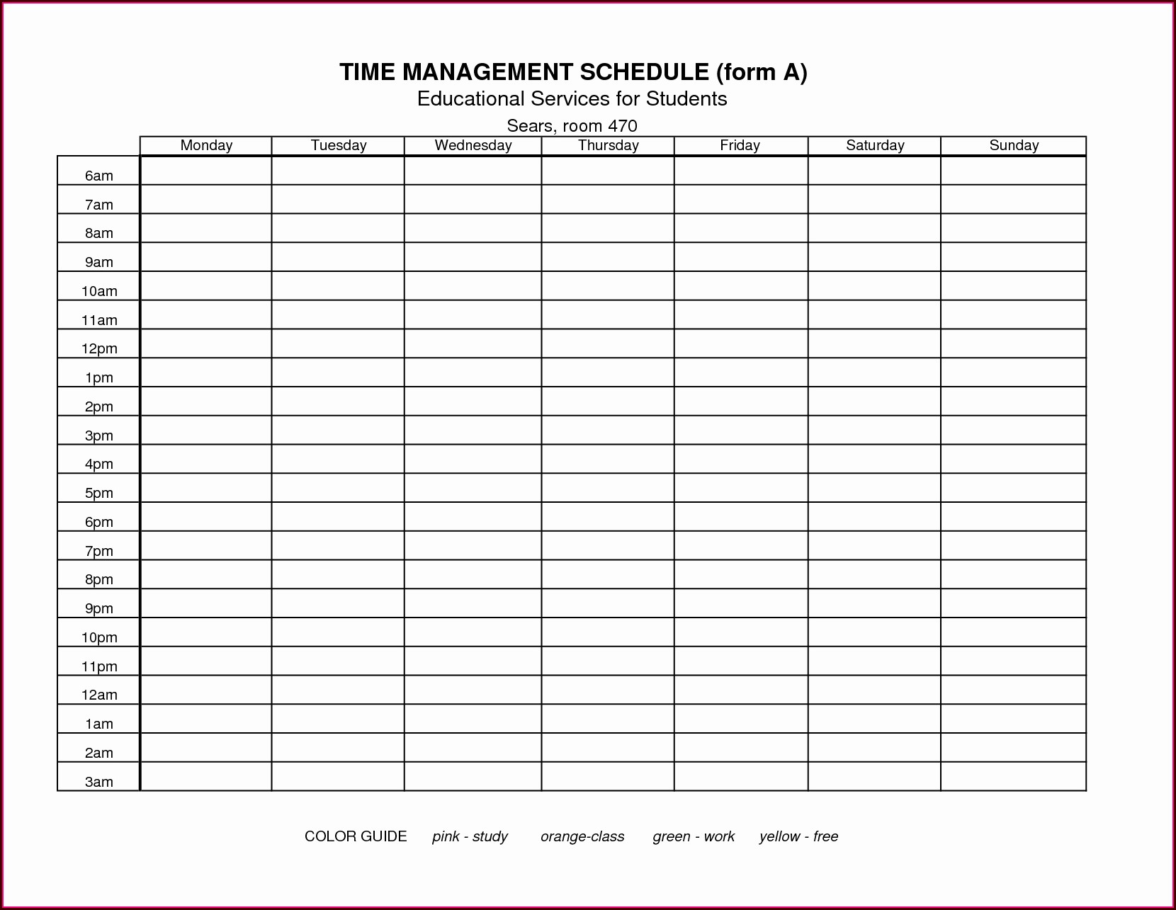 Time Management Worksheet Xls Worksheet Resume Examples