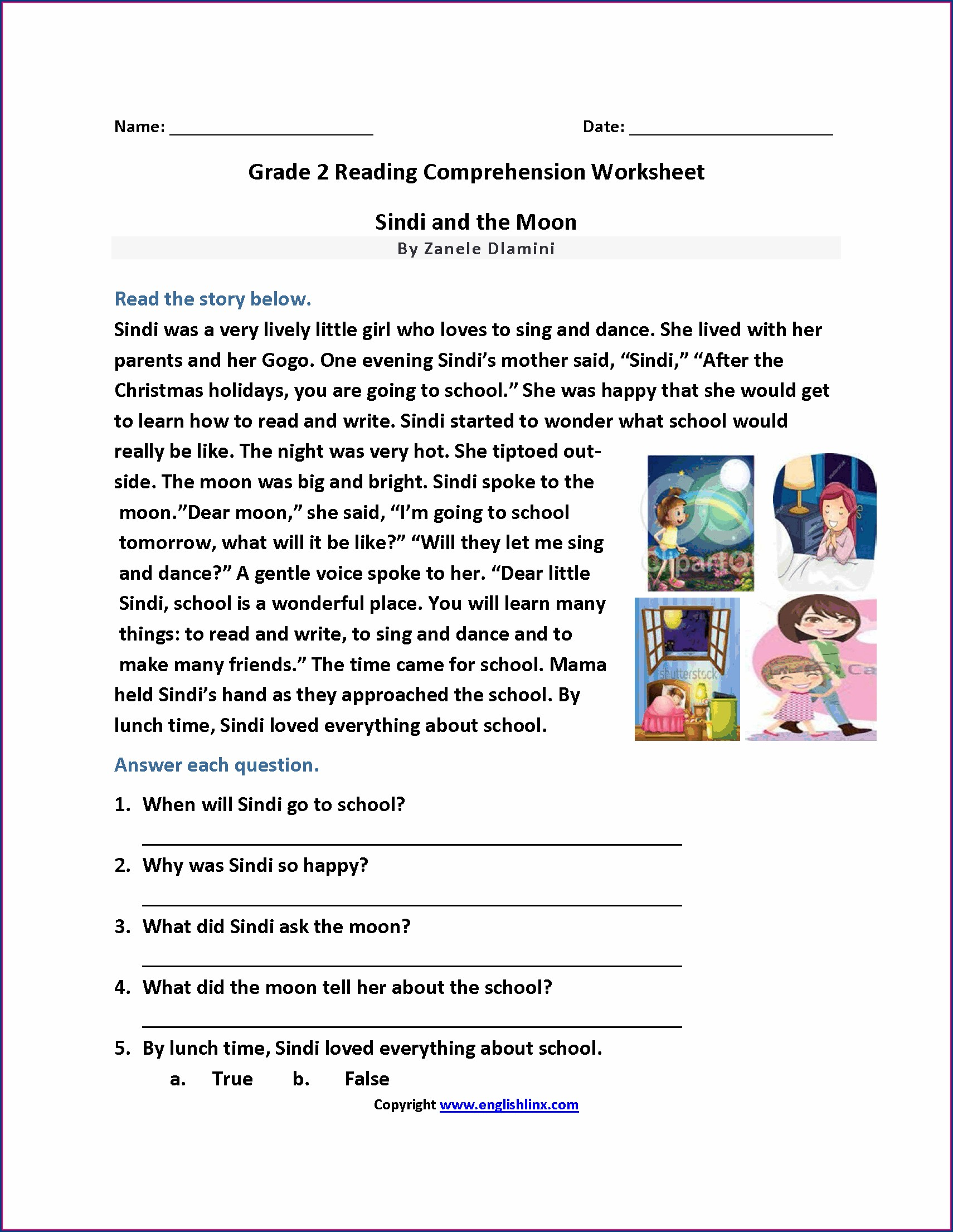 hight resolution of E Reading Worksheets 7th Grade   Printable Worksheets and Activities for  Teachers