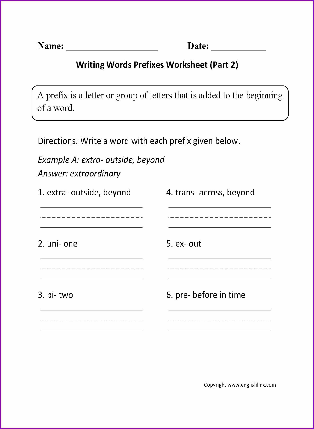 Writing A Letter Worksheet 2nd Grade Worksheet Resume