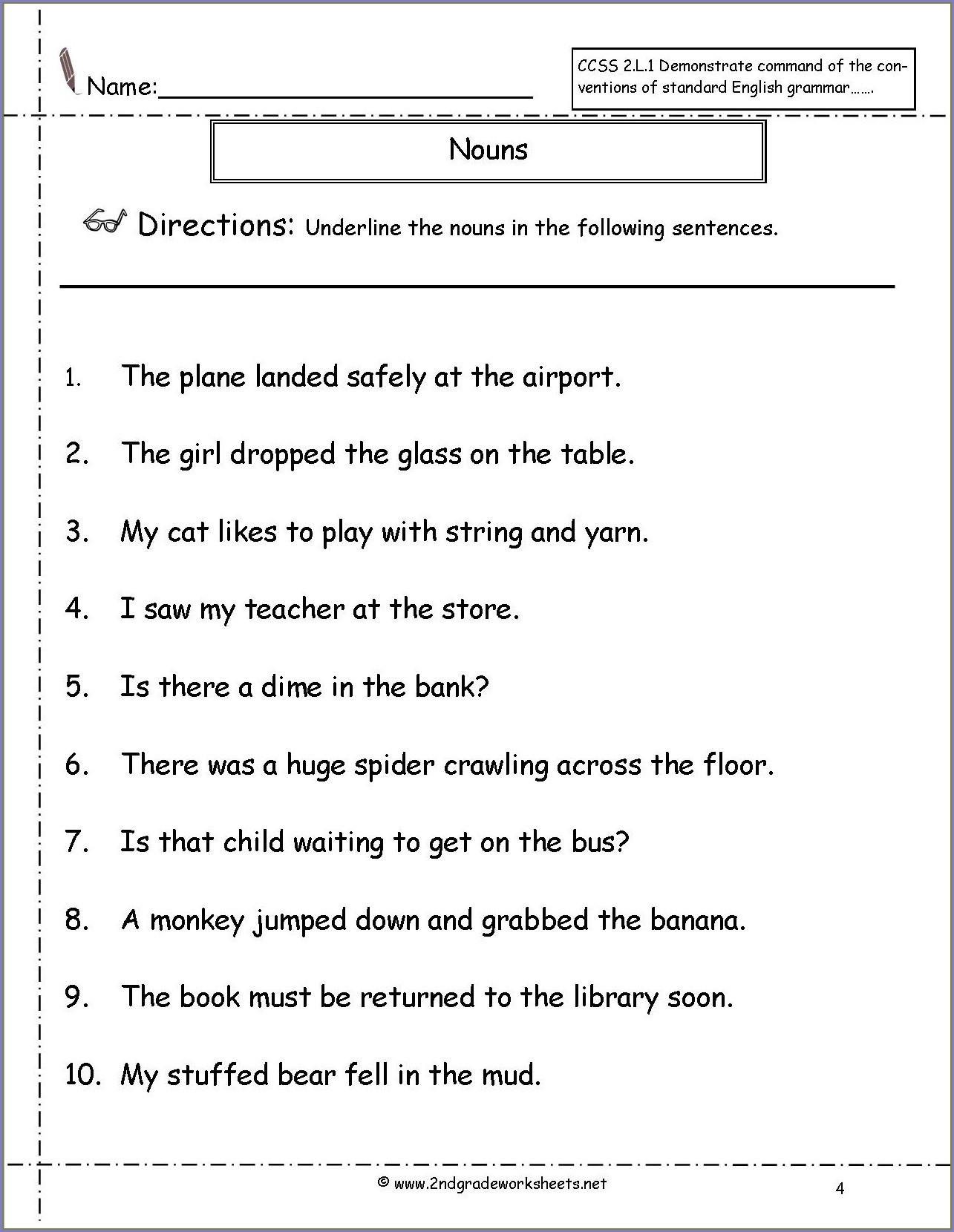 hight resolution of Reflexive Pronouns Worksheet 2nd Grade   Printable Worksheets and  Activities for Teachers