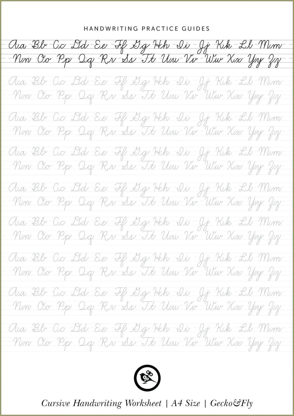 medium resolution of 3rd Grade Cursive Handwriting Worksheets   Printable Worksheets and  Activities for Teachers