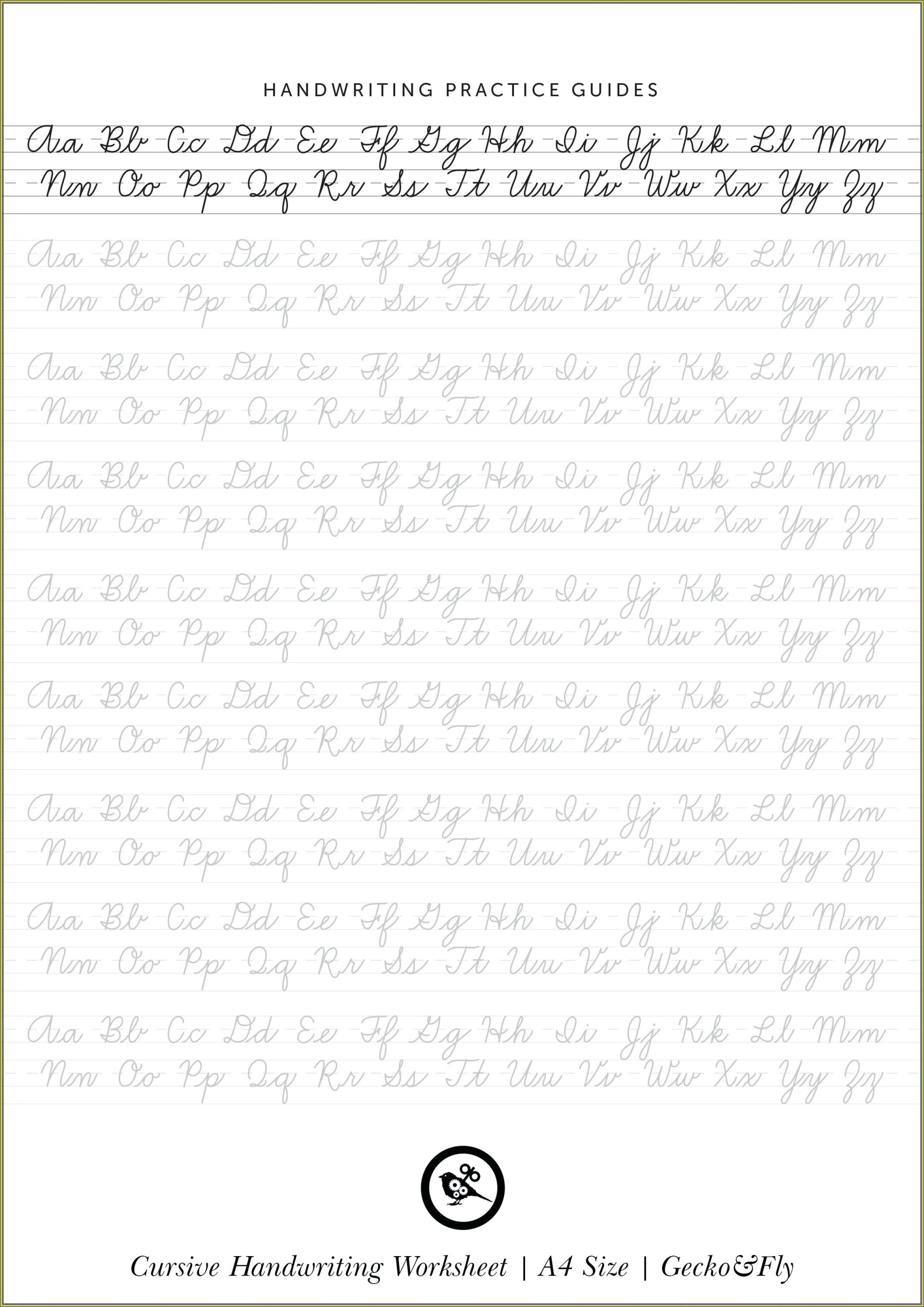 hight resolution of 3rd Grade Cursive Handwriting Worksheets   Printable Worksheets and  Activities for Teachers