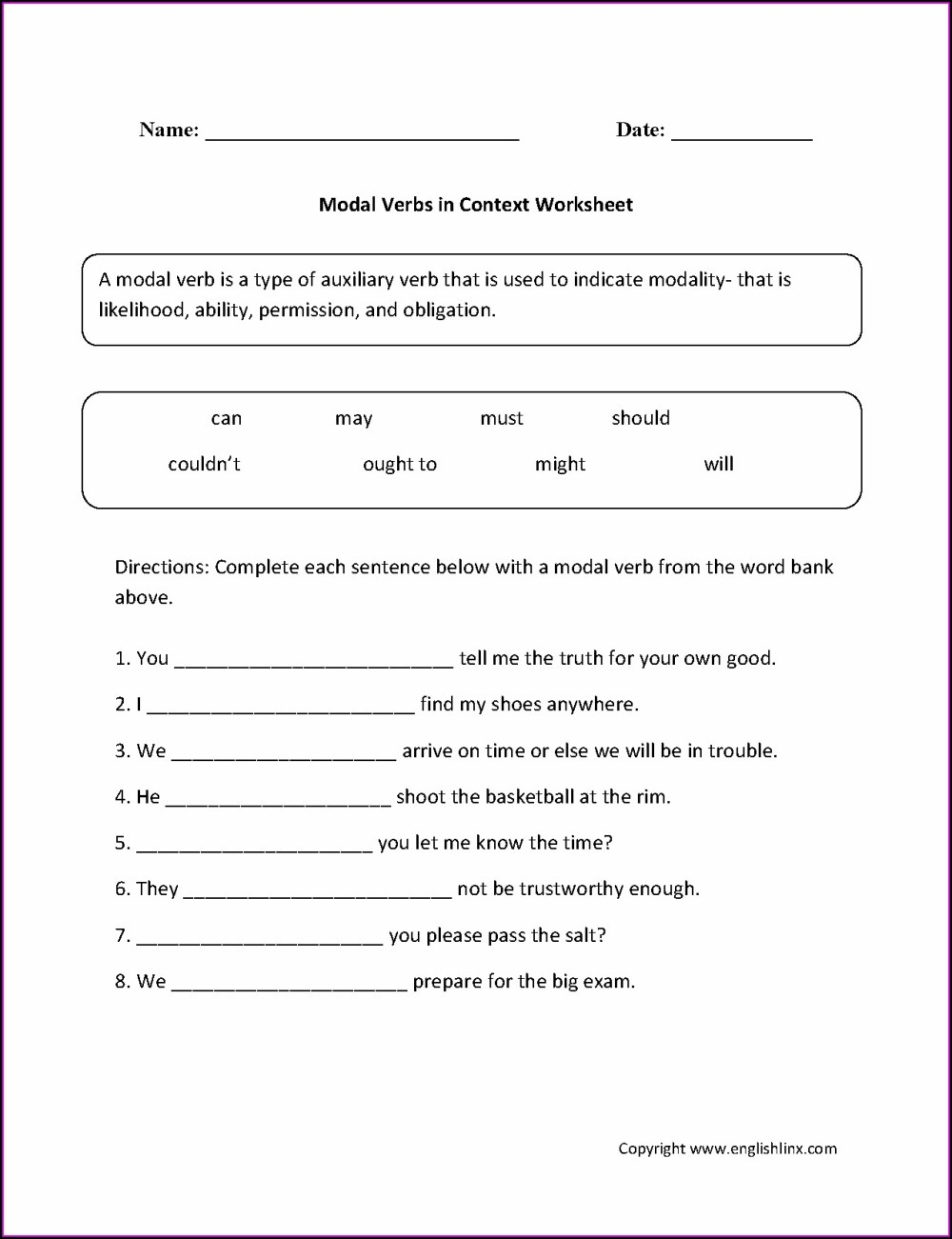 medium resolution of Worksheet On Present Tense For Class 7   Printable Worksheets and  Activities for Teachers