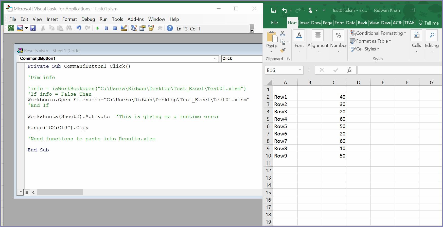 Excel Vba Worksheet Copy Set Worksheet Resume Examples