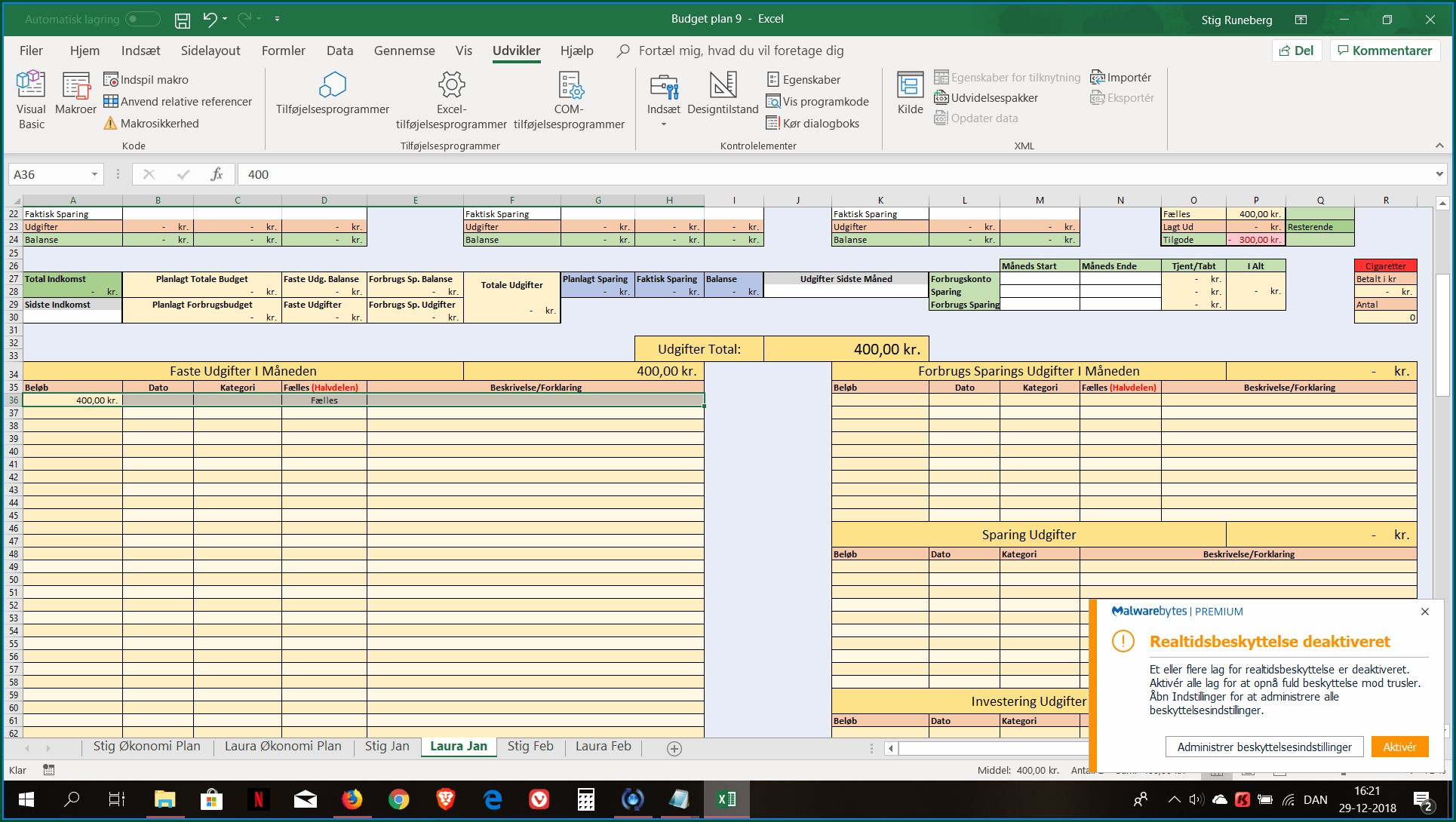 Excel Worksheet Activate Event Not Firing Worksheet