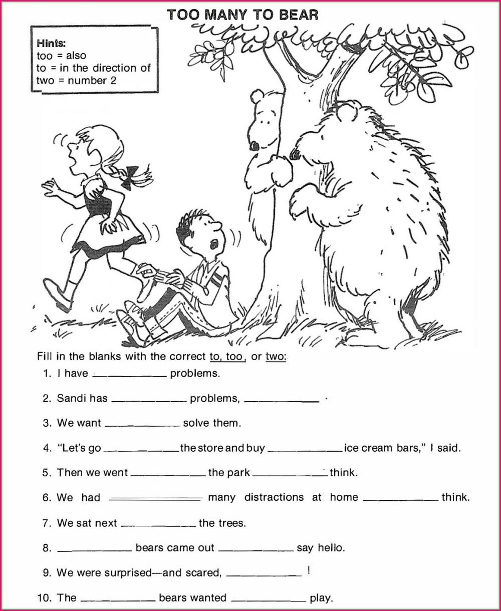 medium resolution of Worksheet Sentence Editing   Printable Worksheets and Activities for  Teachers
