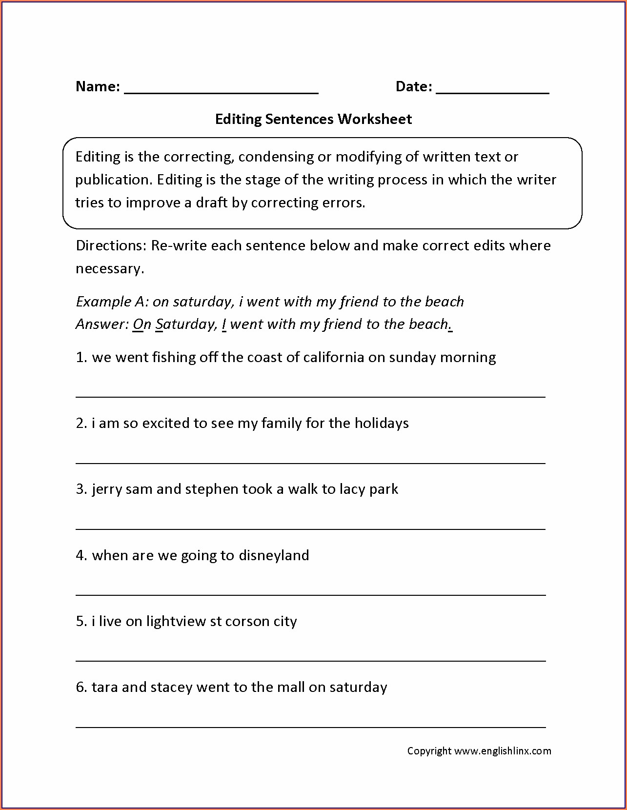 hight resolution of Diagramming Sentences Worksheet 3rd Grade   Printable Worksheets and  Activities for Teachers