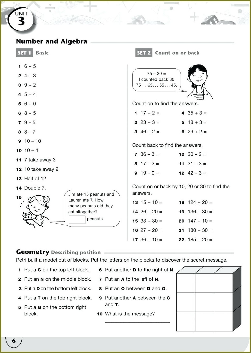Math Worksheet Polar Bear Hidden Message Answer Key