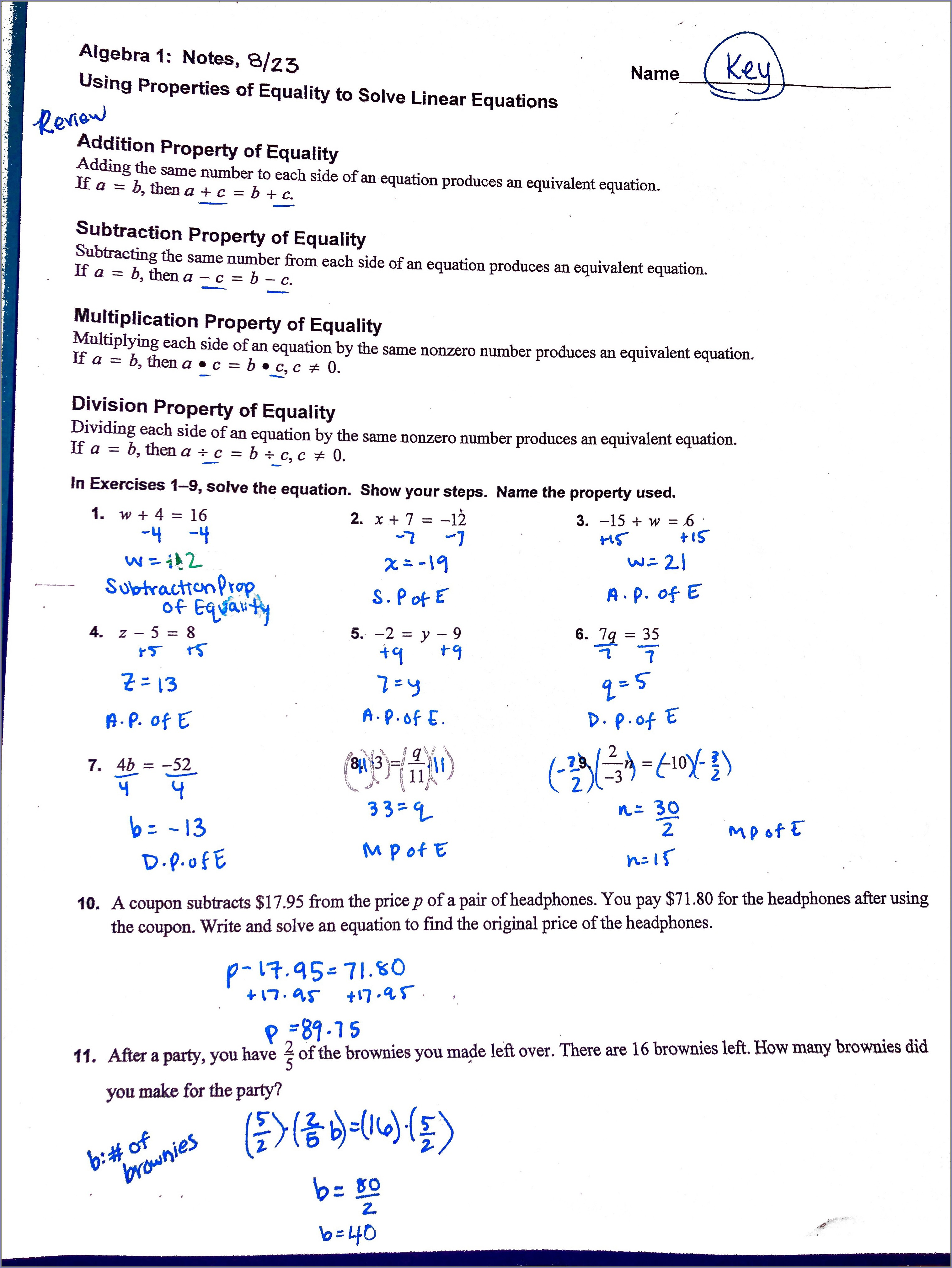 Simplifying Algebra Worksheet And Answers Uncategorized
