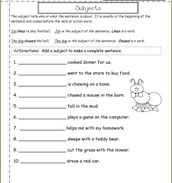 College Sentence Worksheet   Printable Worksheets and Activities for  Teachers [ 1660 x 1285 Pixel ]
