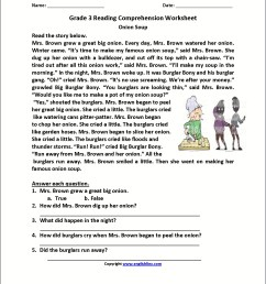 3rd Grade Word Problems Worksheets Pdf   Printable Worksheets and  Activities for Teachers [ 2210 x 1710 Pixel ]