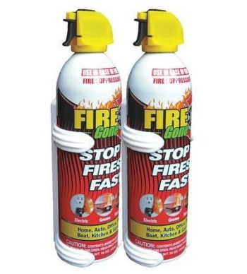 Fire Gone Fire Suppressant (with bracket)