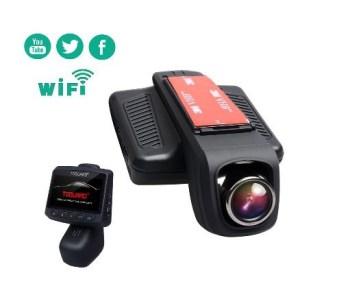 TOGUARD 1080p HD Car Dash Cam with WiFi