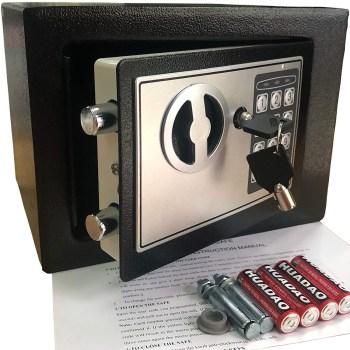 Yuanshikj Electronic Deluxe Digital Security Safe Box With Keypad