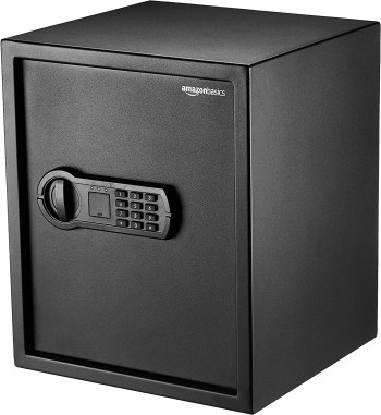 AmazonBasics Home Keypad Safe – 1.52 Cubic Feet