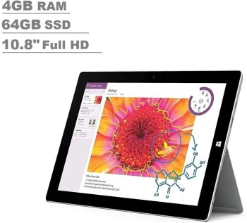 Microsoft Surface 3 10.8″ FHD (Intel Qu...