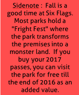 7 Amusement Parks, 6 Cities in 30 Days:  Six Flags