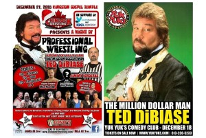 Interview with WWE legend The Million Dollar Man Ted DiBiase