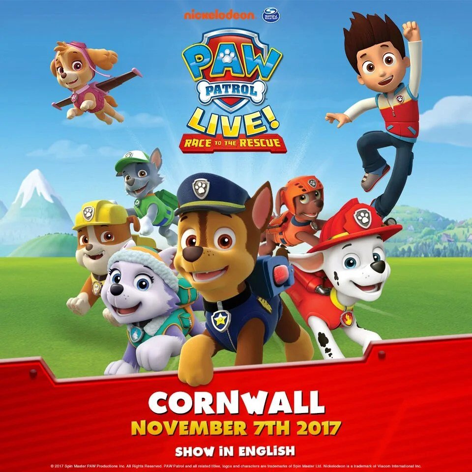 PAW Patrol Live ! ''Race to the rescue'' announces a show in