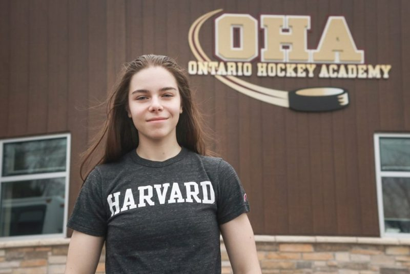 Gabrielle Davidson Adams Harvard University bound