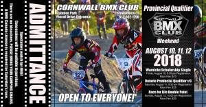 Cornwall BMX Provincial Qualifier Weekend @ pin 	 Floral Dr, Cornwall, ON K0C, Canada | Cornwall | Ontario | Canada
