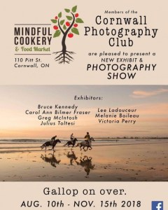 Photography Exhibit @ Mindfull Cookery Cornwall | Cornwall | Ontario | Canada