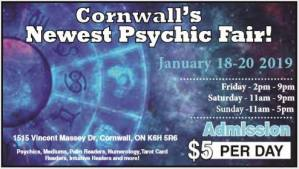 Cornwall Psychic Fair @ Best Western Parkway Inn & Conference Centre