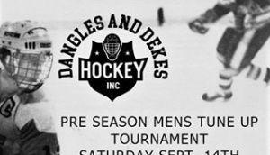 Dangles And Dekes Pre Season Mens Tune Up Tournament @ Benson Centre | Cornwall | Ontario | Canada